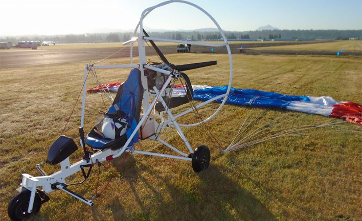 Six Chuter P3 Lite Powered Parachute